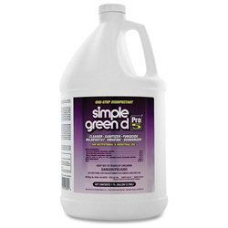 simple green Pro 5 One Step Disinfectant, 1 gal Bottle