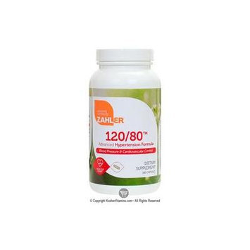 Zahlers Kosher 120/80 Advanced Hypertension Formula 180 Softgels