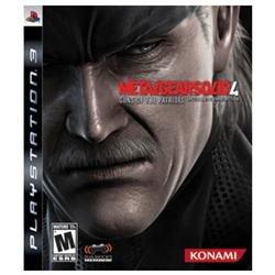 Metal Gear Solid 4: Guns of the Patriots Playstation3 Game KONAMI