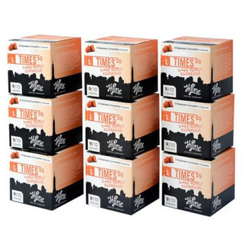 HiLine Coffee 90-Count Times Square Dark Roast Espresso Capsules