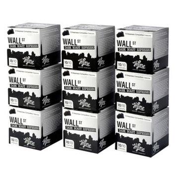 HiLine Coffee Coffee & Espresso Wall Street Dark Roast Coffee (90-Pack) WST-9