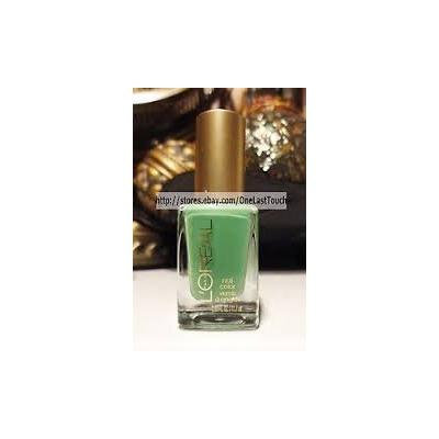 New Loreal Miss Candy Limited Edition Nail Polish 603 Creme de Mint
