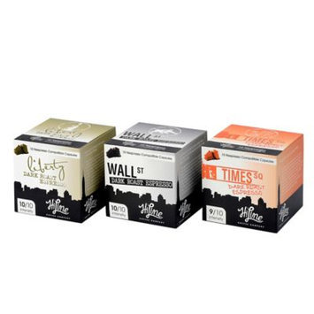 HiLine Coffee 30-Count Assorted Dark Roast Espresso Capsules Combo