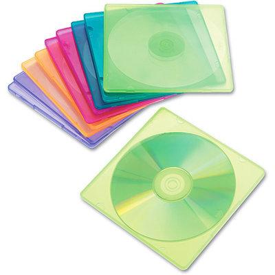 INNOVERA Innovera Slim CD Cases, Clear, 10 Pack