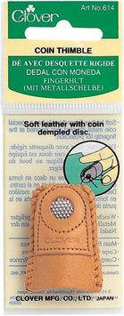 Clover 614C 1.6H x 1.4W Medium Leather Coin Thimble