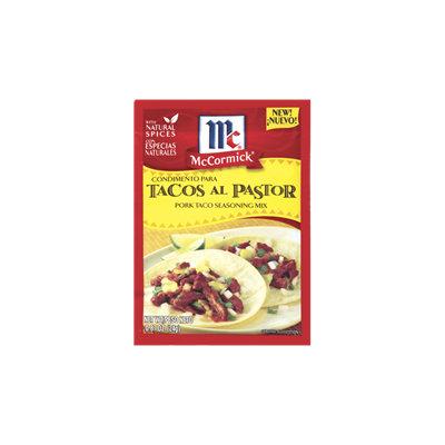 McCormick® Tacos Al Pastor, Pork Taco Seasoning Mix