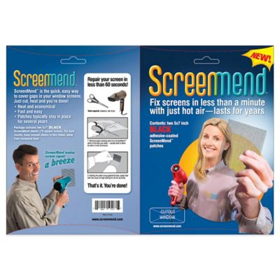 Screenmend 5X7in Screen Patch Gray (857101004549)