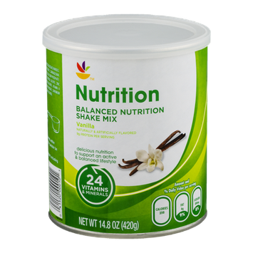 Ahold Nutrition Balanced Nutrition Shake Mix Vanilla
