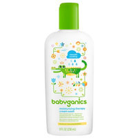 BabyGanics Moisturizing Therapy Cream Wash, Fragrance Free
