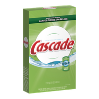 Cascade Powder Dishwasher Detergent, Fresh Scent 75 Oz