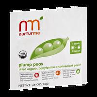 Nurturme Plump Peas Dried Organic Babyfood Pouch