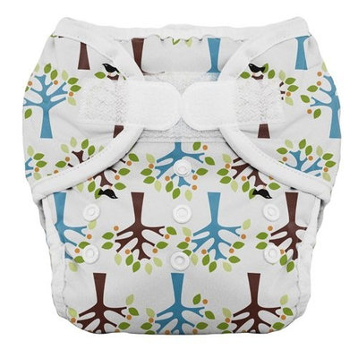 Thirsties Duo Diaper, Blackbird, Size Two (18-40 lbs) (Discontinued by Manufacturer)