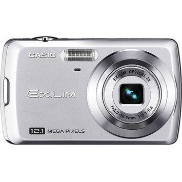 Casio Exilim EX-Z35 Silver 12MP Digital Camera, 3x Optical Zoom, 2.5