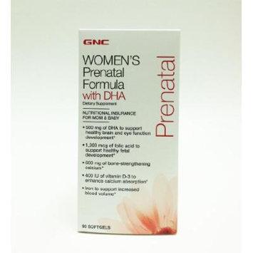 GNC Women's Prenatal Formula Collection (Prenatal Formula with DHA 90 Softgels)