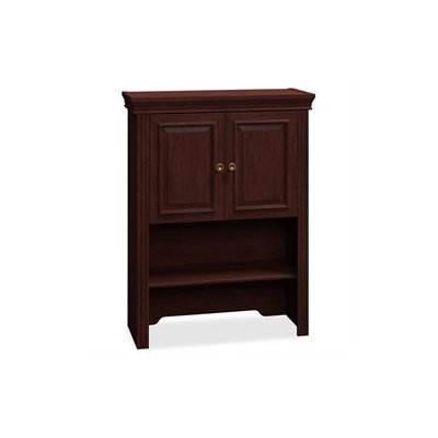 Bush Syndicate Lateral File Hutch, Harvest Cherry