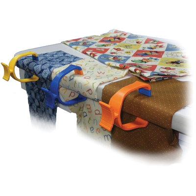 Noble Industries Quilter's Clamp 3/Pkg Orange