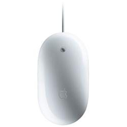 Apple Computers Apple MB112LL/B White Wired Optical Wired Mighty Mouse