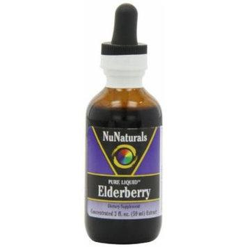 NuNaturals Pure Liquid Elderberry Immunity Supplement, 2 Ounce