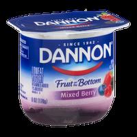 Dannon Fruit on the Bottom Lowfat Yogurt Mixed Berry