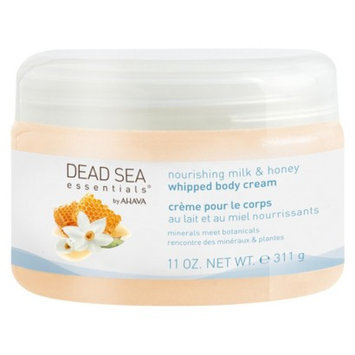 Dead Sea Essentials by AHAVA Nourishing Milk & Honey Whipped Body