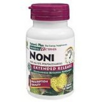 Nature's Plus Extended Release Noni Tabs Pack Of 3 - 30 TABLETS