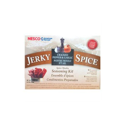 Nesco American Harvest Jerky Spice Works Garlic & Cracked Peppers 36-pk.