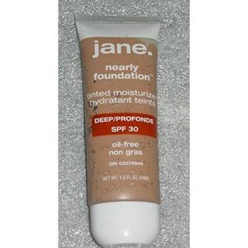 Jane. Nearly Foundation Tinted Moisturize Oil-free Deep SPF 30