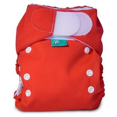 Bummis Tots Bots Easy Fit Pocket Diaper, Pomegranate, 8-35 Pounds (Discontinued by Manufacturer)