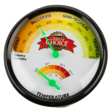 Grreat ChoiceA Analog Thermometer & Hygrometer