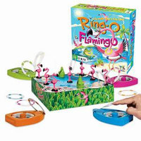 Gamewright Ring-O Flamingo Ages 6 and up, 1 ea