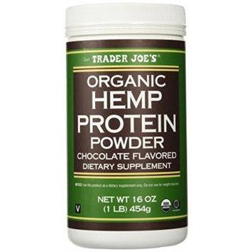 Trader Joe's 16 Oz. Organic Hemp Protein Powder Dietary Supplement (Chocolate)