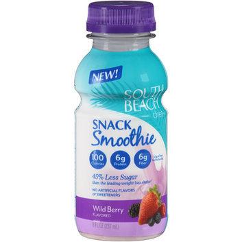 South Beach Diet Wild Berry Snack Smoothie