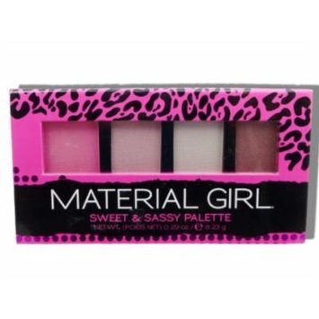Material Girl Eye Shadow Glitter Palette; Grab & Glow