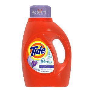 Tide Liquid Detergent plus Febreze