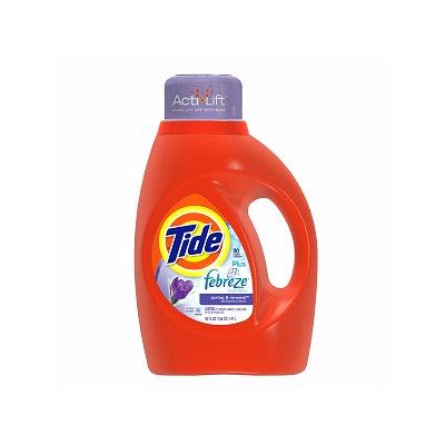 Tide Liquid Detergent plus Febreze