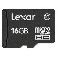 Lexar 16GB microSD Memory Card - Black (LSDMI16GAT)