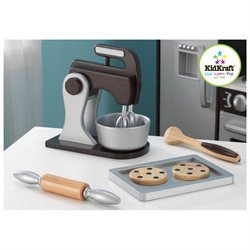 KidKraft Espresso Baking Set Kid's