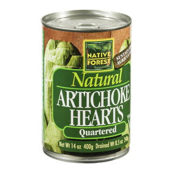 Native Forest Natural Artichoke Hearts Quartered