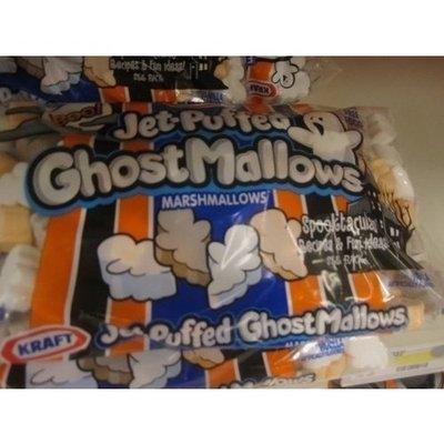 Kraft Foods Jet-puffed Ghostmallows Marshallows