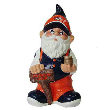Forever Collectibles Gnome Bank- Broncos - School Supplies