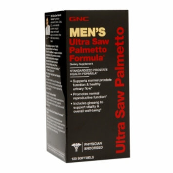 Gnc GNC Men's Ultra Saw Palmetto Formula, Softgels, 120 ea