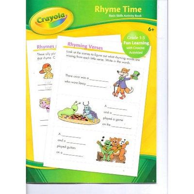 Crayola Rhyme Time Basic Skills Activity Book
