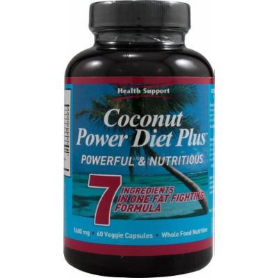 HEALTH SUPPORT Coconut Power Diet Plus