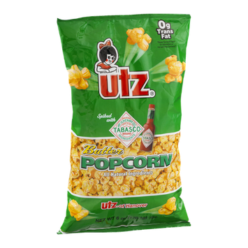 Utz Butter Popcorn Spiked With Tabasco