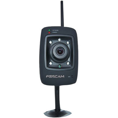 Foscam Fi8909wb Indoor Fixed Wireless IP Camera, Black