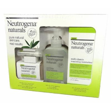 Neutrogena Naturals Pure Skincare Limited Edition, 4 Piece Set