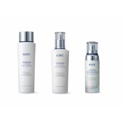 FREE INTERNATIONAL SHIPPING + SPECIAL EVENT!!! IOPE WHITEGEN SOFTENER SKIN LUMINOUS (All Skin /Whitening /150ml) + WHITEGEN EMULSION SKIN LUMINOUS (All Skin /Whitening / 130ml) + IOPE WHITEGEN AMPOULE ESSENCE BIO LUMINOUS (All Skin / Whitening / 50ml)