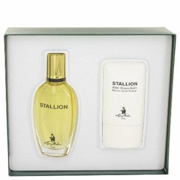 Stallion for Men by Larry Mahan, Gift Set - 1.7 oz Eau De Cologne Spray + 2 oz After Shave Balm
