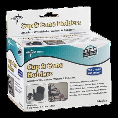 Medline Cup & Cane Holders