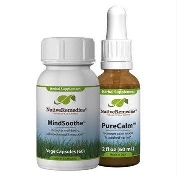 Native Remedies Native Remedies Calm Mind ComboPack - PureCalm + MindSoothe